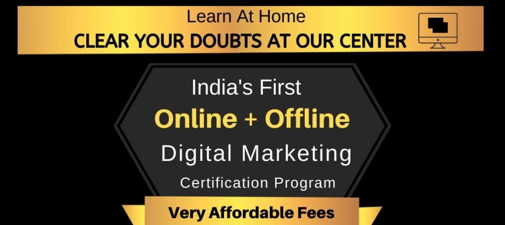 KDMI Online Digital Marketing Course