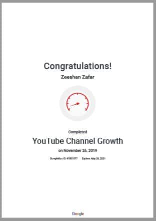 Get Youtube Certification With KDMI